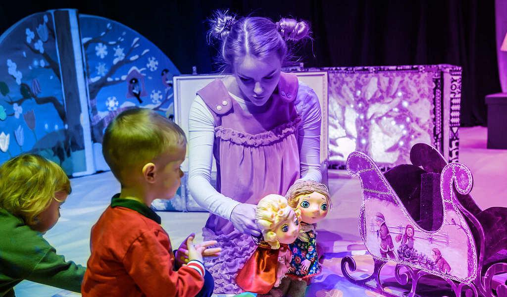 Развлечения для детей в Сказке «12 месяцев»