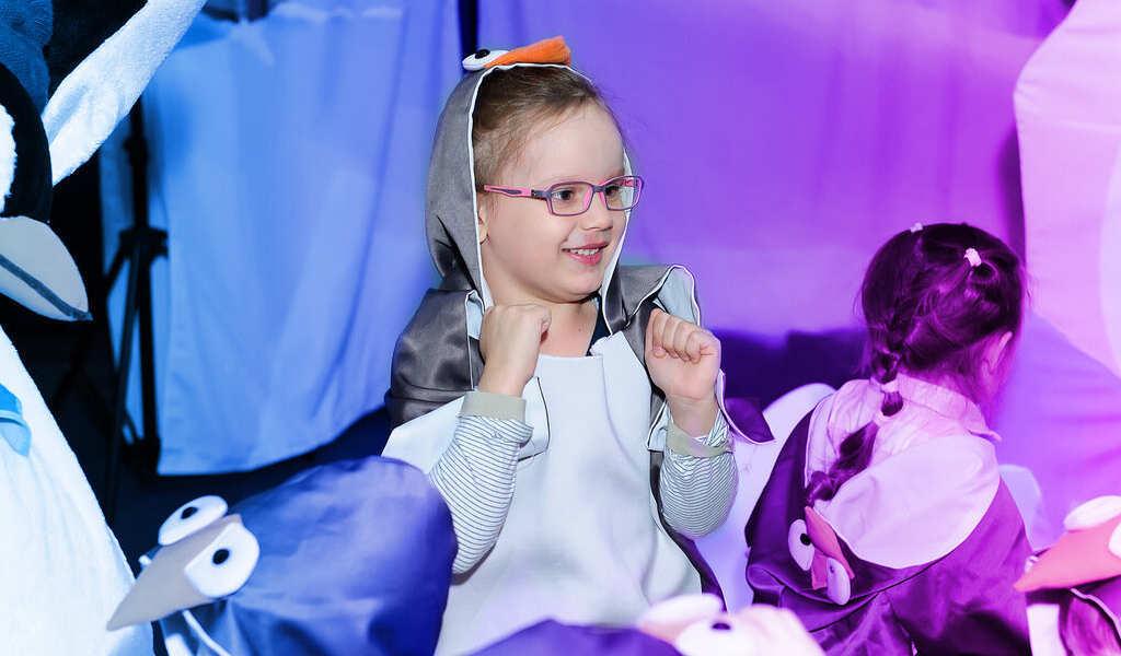 Развлечения для детей в спектакле «Антарктида Snow&Show»