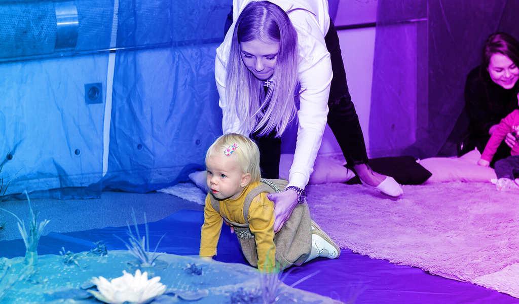 Развлечения для детей в Сказке реки
